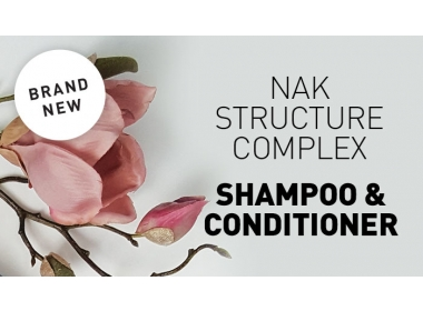 Nak Structure Complex Shampoo and Conditioner and Treatment