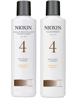 Nioxin System 4 Cleanser Shampoo and Scalp Revitaliser Conditioner Duo 300ml
