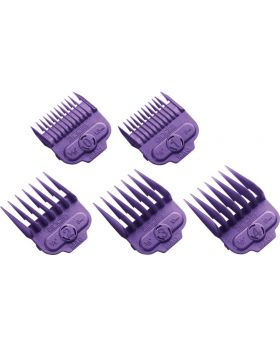 Andis Magnetic Clipper Cutting Comb Attachment Guide Set (#0 to #4)