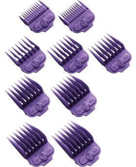 Andis Magnetic Clipper Cutting Comb Attachment Guide Set (#0 to #8)