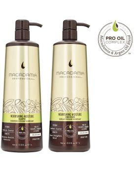 Macadamia Professional Nourishing Moisture Shampoo & Conditioner 1L Duo
