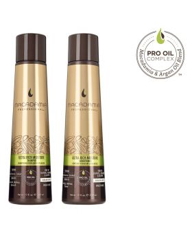 Macadamia Professional Ultra Rich Moisture Shampoo & Conditioner 300ml Duo