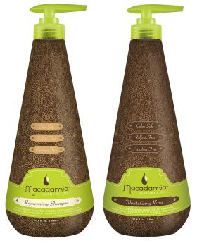Macadamia Natural Oil Rejuvenating Shampoo & Conditioner 1 Litre Duo