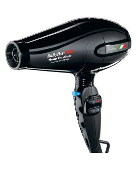 BaByliss Pro Portofino 2200W Performance Pro Nano Titanium Hair Dryer With 4 Nozzle