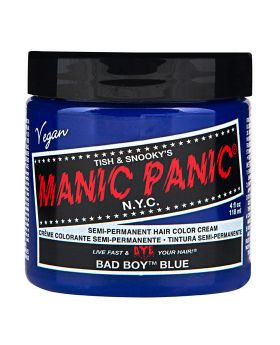 Manic Panic Classic Hair Dye Bad Boy Blue Semi Permanent Vegan Colour 118ml