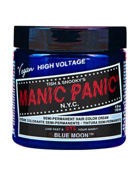 Manic Panic Classic Hair Dye Blue Moon Semi Permanent Vegan Colour 118ml