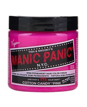 Manic Panic Classic Hair Dye Cotton Candy Semi Permanent Vegan Colour 118ml