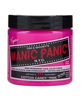 Manic Panic Classic Hair Dye Cotton Candy Semi Permanent Vegan Colour 118ml