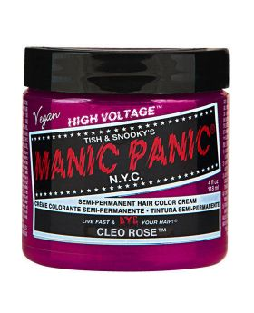 Manic Panic Classic Hair Dye Cleo Rose Semi Permanent Vegan Colour 118ml