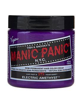 Manic Panic Classic Hair Dye Electric Amethys Semi Permanent Vegan Colour 118ml