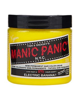Manic Panic Classic Hair Dye Electric Banana Semi Permanent Vegan Colour 118ml