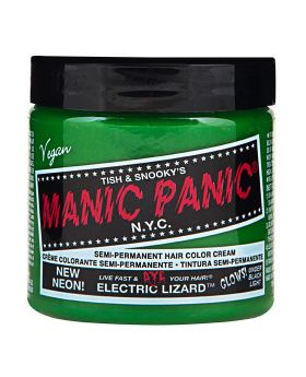 Manic Panic Classic Hair Dye Electric Lizard Semi Permanent Vegan Colour 118ml