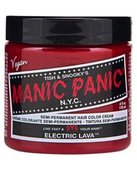 Manic Panic Classic Hair Dye Electric Lava Semi Permanent Vegan Colour 118ml