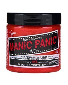 Manic Panic Classic Hair Dye Electric Tiger Lily Semi Permanent Vegan Colour 118ml