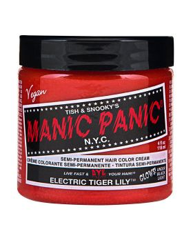 Manic Panic Classic Hair Dye Electric Tiger Lily Semi Permanent Vegan Colour 118ml