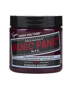Manic Panic Classic Hair Dye Fuschia Shock Semi Permanent Vegan Colour 118ml
