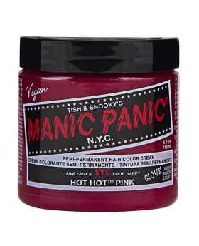 Manic Panic Classic Hair Dye Hot Hot Pink Semi Permanent Vegan Colour 118ml