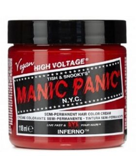 Manic Panic Classic Hair Dye Inferno Semi Permanent Vegan Colour 118ml