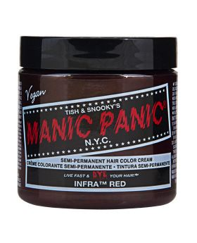 Manic Panic Classic Hair Dye Infra Red Semi Permanent Vegan Colour 118ml