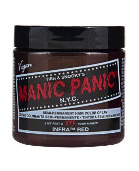 Manic Panic Classic Hair Dye Infra Red Semi Permanent Vegan Colour 118ml