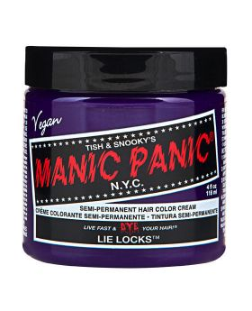 Manic Panic Classic Hair Dye Lie Locks Semi Permanent Vegan Colour 118ml