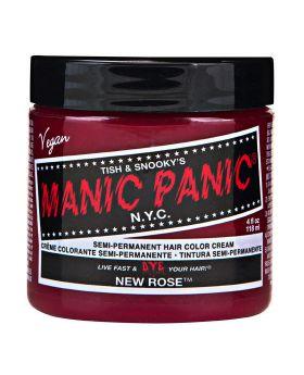 Manic Panic Classic Hair Dye New Rose Semi Permanent Vegan Colour 118ml