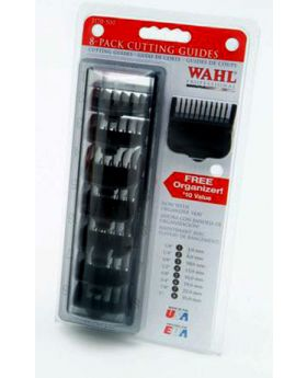 Wahl Black Clipper Comb Attachment Guides Caddie #1 to #8 WA3170-517