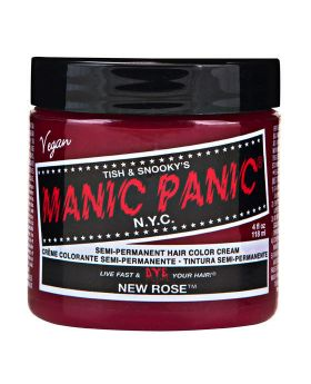 Manic Panic Classic Hair Dye New Rose Semi Permanent Vegan Colour 118ml