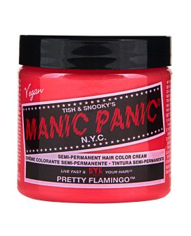 Manic Panic Classic Hair Dye Pretty Flamingo Semi Permanent Vegan Colour 118ml