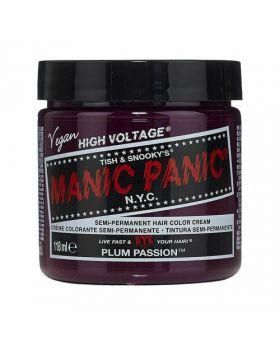 Manic Panic Classic Hair Dye Plum Passion Semi Permanent Vegan Colour 118ml