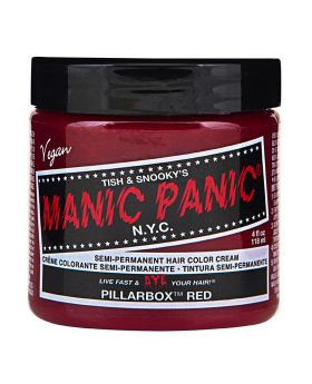 Manic Panic Classic Hair Dye Pillarbox Red Semi Permanent Vegan Colour 118ml