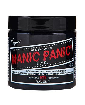 Manic Panic Classic Hair Dye Raven Semi Permanent Vegan Colour 118ml