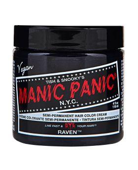 Manic Panic Classic Hair Dye Raven Semi Permanent Vegan Colour 118ml