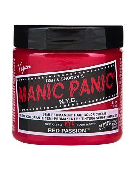 Manic Panic Classic Hair Dye Red Passion Semi Permanent Vegan Colour 118ml