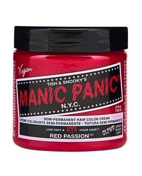 Manic Panic Classic Hair Dye Red Passion Semi Permanent Vegan Colour 118ml