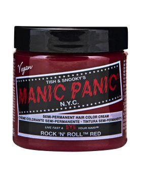 Manic Panic Classic Hair Dye Rock'n'roll Red Semi Permanent Vegan Colour 118ml