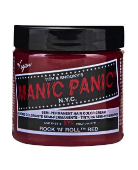 Manic Panic Classic Hair Dye Rock'n'roll Red Semi Permanent Vegan Colour 118ml