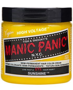 Manic Panic Classic Hair Dye Sunshine Semi Permanent Vegan Colour 118ml