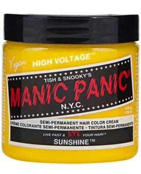 Manic Panic Classic Hair Dye Sunshine Semi Permanent Vegan Colour 118ml