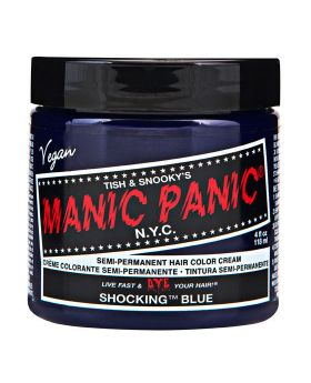 Manic Panic Classic Hair Dye Shocking Blue Permanent Vegan Colour 118ml
