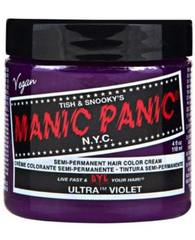 Manic Panic Classic Hair Dye Ultra Violet Permanent Vegan Colour 118ml