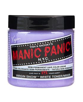 Manic Panic Classic Hair Dye Virginsnow Semi Permanent Vegan Colour 118ml