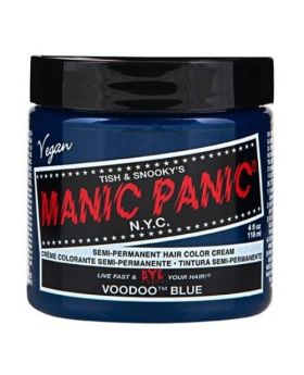 Manic Panic Classic Hair Dye Voodoo Blue Semi Permanent Vegan Colour 118ml