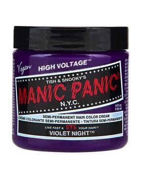 Manic Panic Classic Hair Dye Violet Night Semi Permanent Vegan Colour 118ml