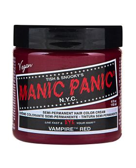 Manic Panic Classic Hair Dye Vampire Red Semi Permanent Vegan Colour 118ml