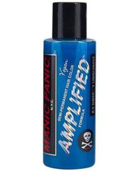Manic Panic Amplified Hair Dye Atomic Turquoise Semi Permanent Vegan Colour 118ml