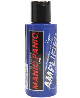 Manic Panic Amplified Hair Dye Bad Boy Blue Semi Permanent Vegan Colour 118ml