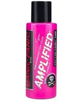 Manic Panic Amplified Hair Dye Cotton Candy Semi Permanent Vegan Colour 118ml