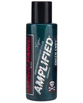 Manic Panic Amplified Hair Dye Green Envy Semi Permanent Vegan Colour 118ml