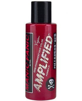 Manic Panic Amplified Hair Dye Pillarbox Red Semi Permanent Vegan Colour 118ml